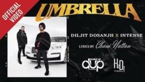 Umbrella Lyrics Diljit Dosanjh