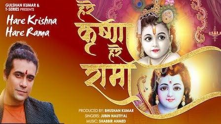 Hare Krishna Hare Rama Lyrics Jubin Nautiyal