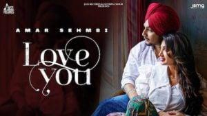 Love You Lyrics Amar Sehmbi