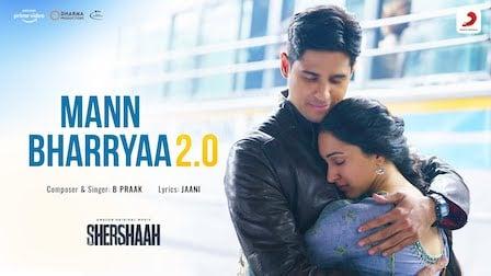 Mann Bharrya 2.0 Lyrics Shershaah | B Praak
