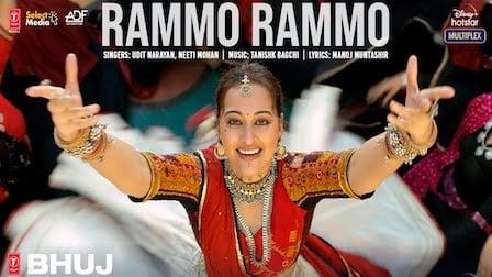 Rammo Rammo Lyrics Bhuj   Udit Narayan x Neeti Mohan