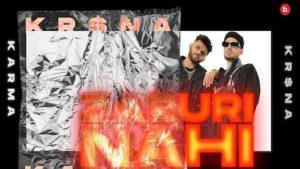 Zaruri Nahi Lyrics Karma x Kr$na