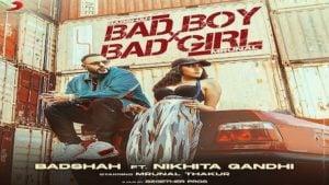 Bad Boy x Bad Girl Lyrics Badshah | Nikhita Gandhi