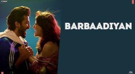 Barbaadiyan Lyrics Shiddat