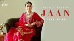 Jaan Lyrics Nimrat Khaira
