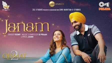 Janam Lyrics Qismat 2 | Romi