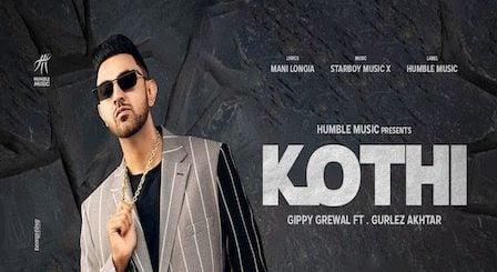 Kothi Lyrics Gippy Grewal