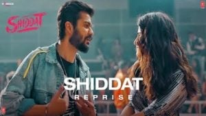 Shiddat (Reprise) Lyrics Manan Bhardwaj