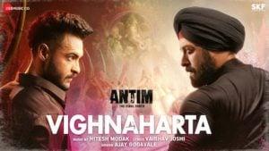 Vighnaharta Lyrics Antim | Salman Khan