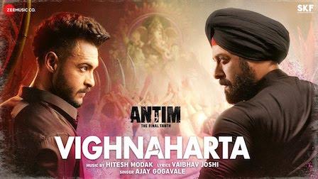 Vighnaharta Lyrics Antim   Salman Khan