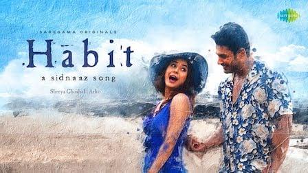 Habit Lyrics Shreya Ghoshal x Arko | Sidnaaz Song