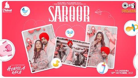 Saroor Lyrics Diljit Dosanjh | Honsla Rakh