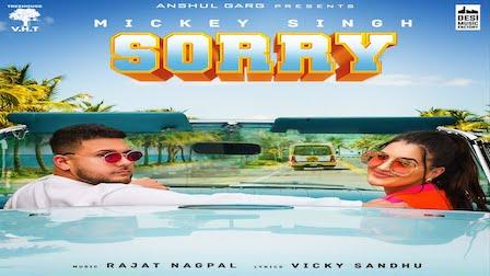 Sorry Lyrics Mickey Singh