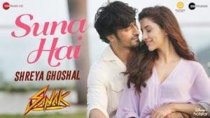 Suna Hai Lyrics Sanak | Shreya Ghoshal (Female Version)