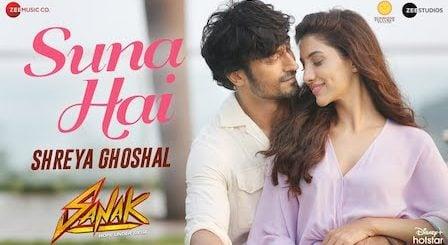 Suna Hai Lyrics Sanak   Shreya Ghoshal (Female Version)